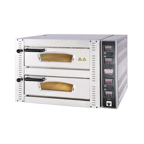 EGS DPR 602 - DPR 702 Digital Control Double Deck Pizza Oven