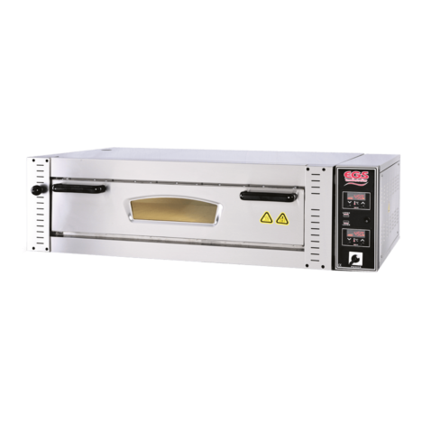 EGS DPR-901 - DPR-101 - DPR-105 Digital Control Single Deck Pizza Oven