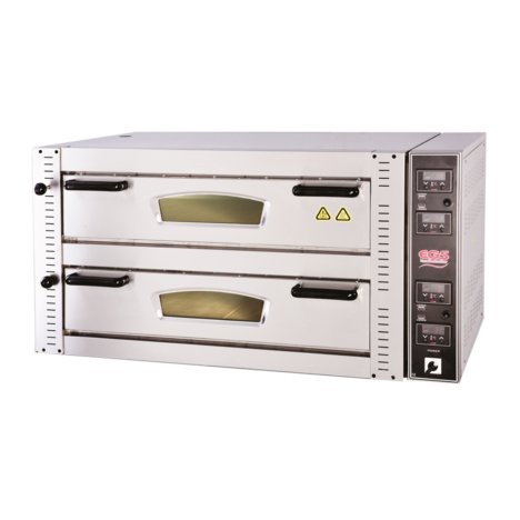 EGS DPR 102 - DPR 902 Digital Control Double Deck Pizza Oven