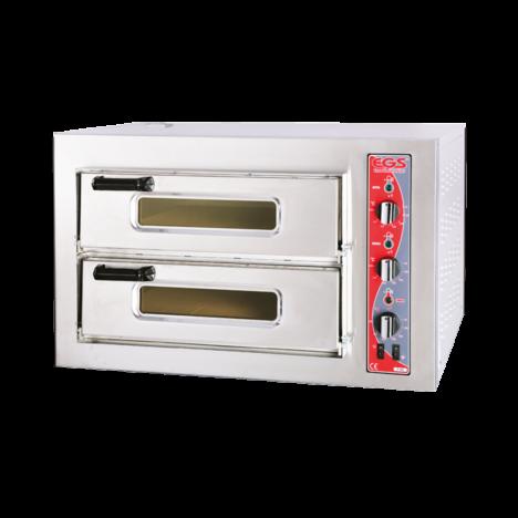 EGS p502 Compact Çift Katlı Pizza Fırını