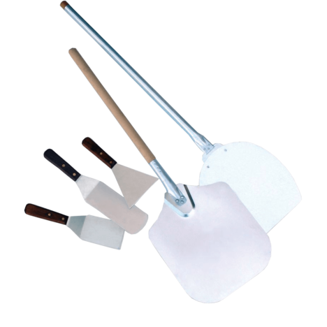 EGS Pizza Peel (Metal), Disc Knife And Spatulas