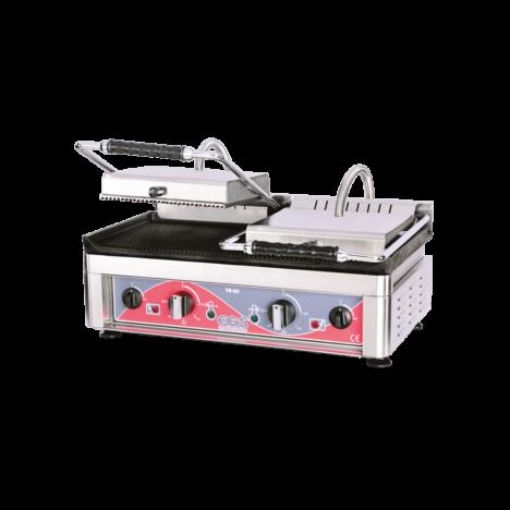 egs te02 analog-dijital kontrol panelli tost makinesi